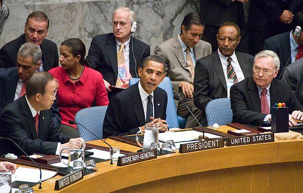 El presidente de Estados Unidos, Barack Obama, preside una cumbre del Consejo de Seguridad de la ONU sobre desarme y no proliferación nuclear. Crédito: Bomoon Lee/IPS.