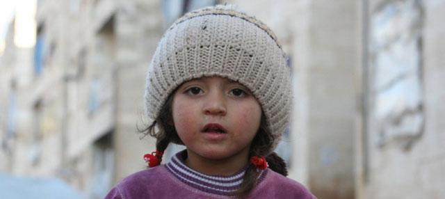 Refugio de Al-Riad en la ciudad siria de Alepo. La población civil sigue sufriendo violencia y horribles privaciones en Siria, denuncia la Oficina de las Naciones Unidas para la Coordinación de Asuntos  Humanitarios. Crédito: Josephine Guerrero/OCHA.