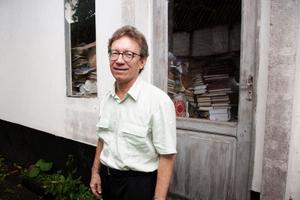 Lucio Flavio Pinto, galardonado con numerosos premios internacionales por sus denuncias sobre corrupción en el norteño y amazónico estado brasileño de Pará. Crédito, lo que le ha valido afrontar un sinnúmero de procesos judiciales: Garapa.org