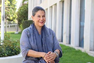 Eve Crowley, representante regional interina de la FAO para América Latina y el Caribe. Crédito: Max Valencia/FAORLC