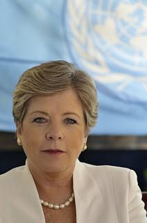 La secretaria ejecutiva de la Cepal, Alicia Bárcena. Lorenzo Moscia/Cepal
