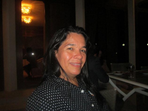 Gladys Villarreal, responsable del cuidado de las cuencas del Ministerio de Ambiente de Panamá, cree que el agua une los pueblos más diferentes y les ayuda a entenderse. En su evaluación, para Panamá no será dificil cumplir el Objetivo de Desarrollo Sostenible (ODS) 6, que busca universalizar el agua limpia y el saneamento para 2030. Crédito: Mario Osava/IPS