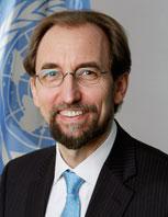 Alto Comisionado de las Naciones Unidas para los Derechos Humanos, Zeid Ra'ad Al Hussein. Crédito: Cortesía.