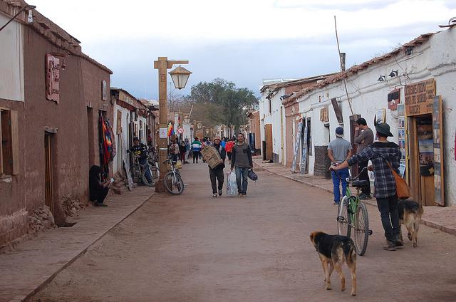 El pueblo de San Pedro de Atacama es el principal destino turístico de Chile, en la norteña región de Antofagasta. Recibe más de un millón de turistas al año, lo que genera una explosiva demanda de agua en una de las regiones donde el recurso tiene riesgo de colapso. Crédito: Marianela Jarroud/IPS