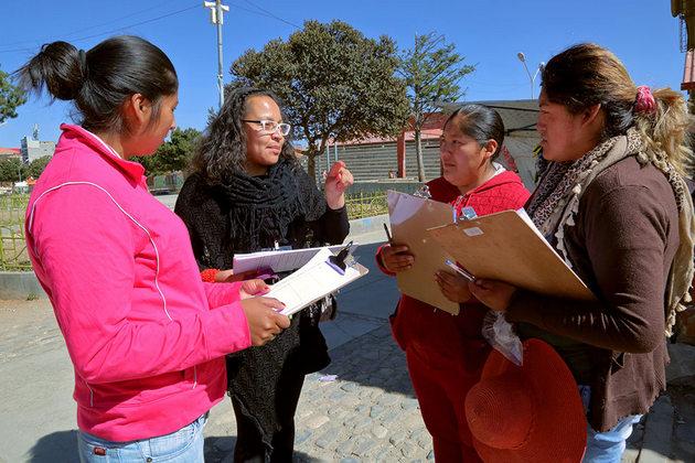 Patricia Urquieta discute la importancia de la planificación de ciudades inclusivas. Crédito: Elena Hertz/ONU Mujeres