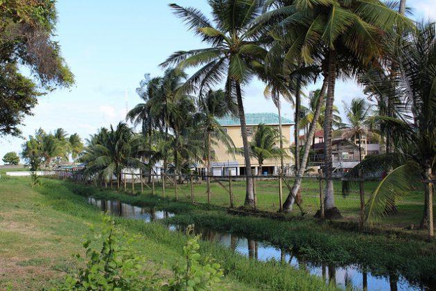 Con aproximadamente 90 por ciento de la población de Guyana viviendo por debajo del nivel del mar, el país dice que necesita adaptarse y construir resiliencia. Pero la directora de la Oficina de Cambio Climático, Janelle Christian, en Guyana dice que destrabar fondos es un gran desafío. Crédito: Desmond Brown/IPS.