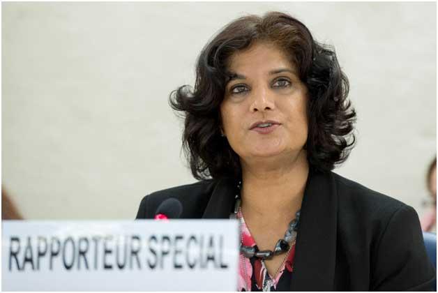 Urmila Bhoola, relatora especial de la ONU sobre formas contemporáneas de esclavitud. Crédito: Cortesía.