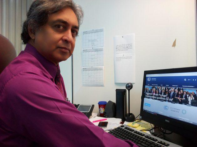 Kishan Kumarsingh, lead negotiator for Trinidad and Tobago on climate change. Credit: Jewel Fraser/IPS