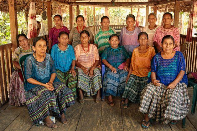 Las abuelas de Sepur Zarco. Crédito: Ryan Brown/ONU Mujeres