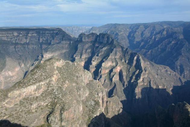 Barranca La Sinforosa en la Sierra Tarahumara. Crédito: ONU Medio Ambiente