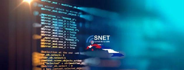 Imagen del perfil de Facebook de Snet, la llamada red de la calle. Fue la primera red inalámbrica comunitaria que surgió en Cuba y se fue expandiendo los últimos 10 años por La Habana, sobre todo entre los jóvenes, hasta convertirse en la mayor independiente existente en el país. Crédito: Snet
