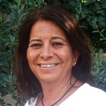 La autora, Suad Abu-Dayyed