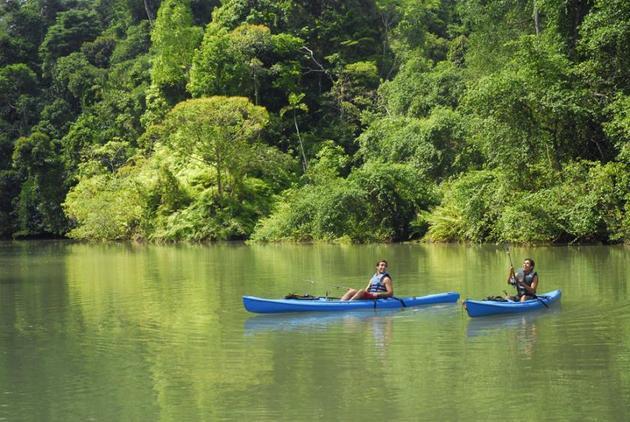 Canales de Tortuguero, Costa Rica. Crédito: Presidencia de Costa Rica