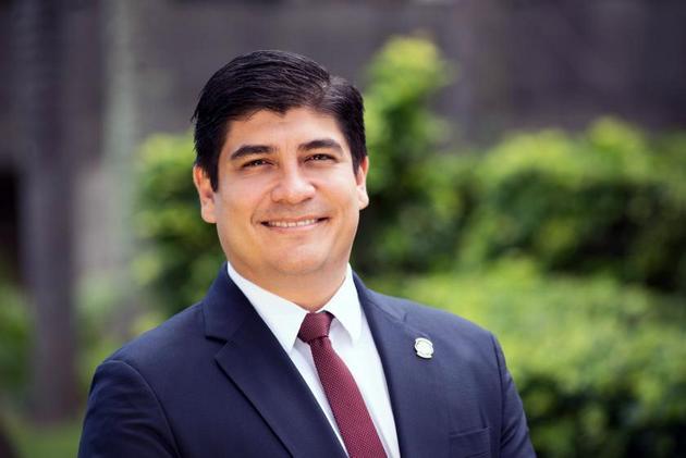 Carlos Alvarado Quesada, el presidente de Costa Rica. Crédito: Presidencia de Costa Rica