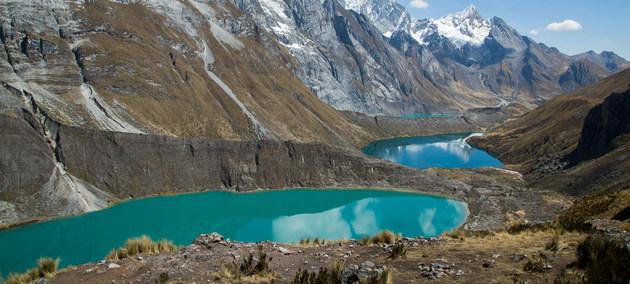 La cordillera peruana de Huayhuash en agosto de 2019. Los Andes contienen 99 por ciento de los glaciares tropicales del mundo. Crédito: Daniela Gross/ONU