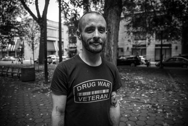 John Hill, un veterano de la guerra contra las drogas. Crédito: Heriberto Paredes/Pie de Página