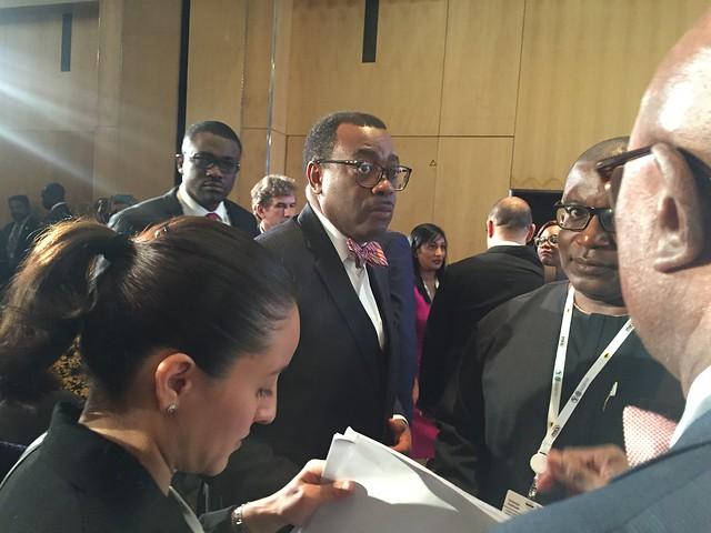 El presidente del Banco Africano de Desarrollo, Akinwumi Adesina, subrayó en el Foro de Inversión de África, celebrado este mes en la ciudad sudafricana de Johannesburgo, que la institución multilateral tiene entre sus mayores objetivos el apuntalar la transición del continente hacia las energías renovables. Crédito: Nalisha Adams / IPS