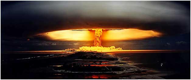 Una prueba nuclear. Crédito: ONU