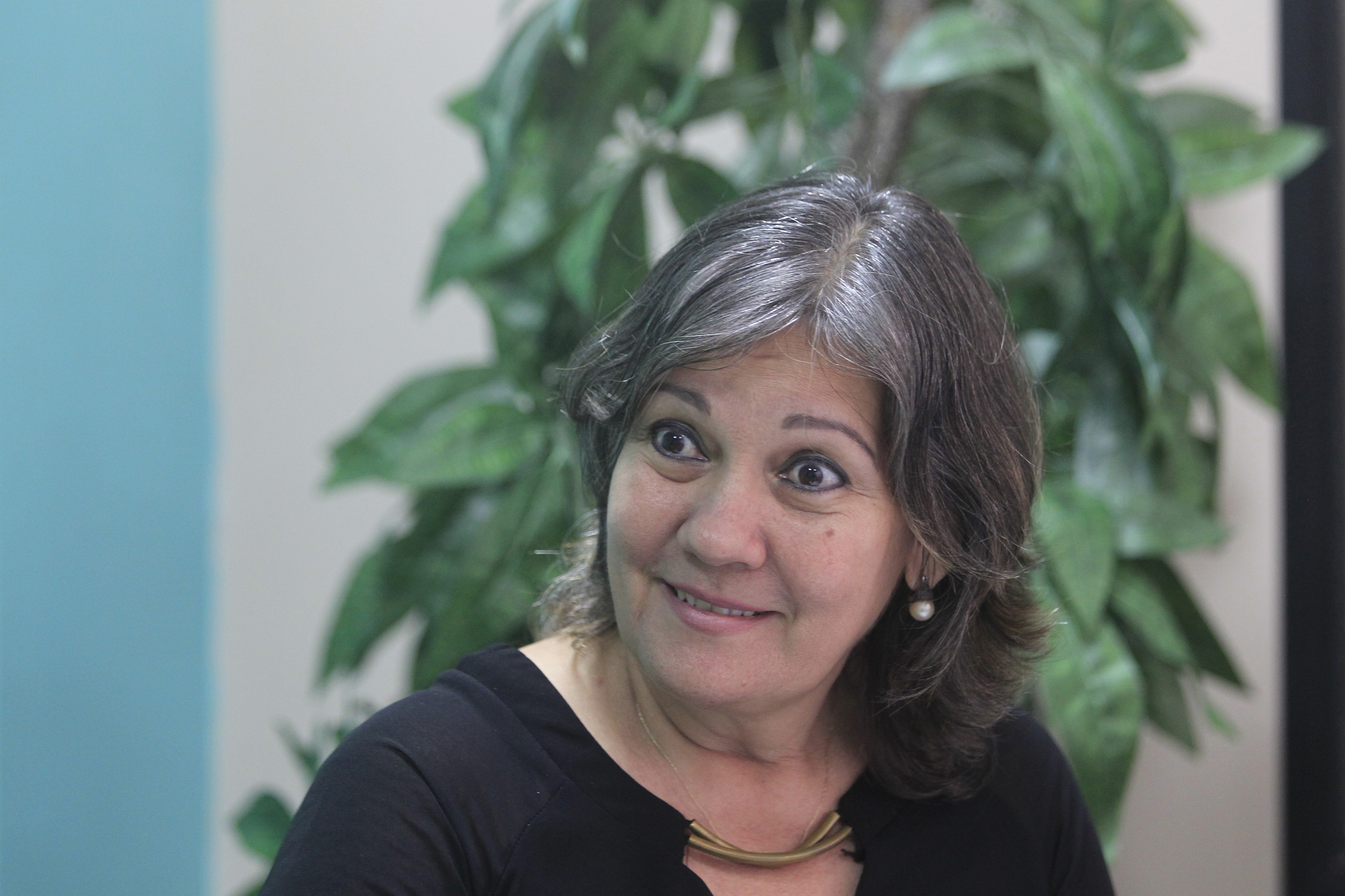 La coordinadora de las acciones de género en el Ministerio de La Agricultura (MINAGRI)Julia Muriel conversa con IPS, en la sede del MINAGRI, La Habana, Cuba. 17 de diciembre de 2019. Crédito: Jorge Luis Baños/IPS.