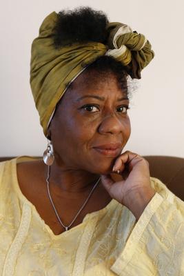 La autora, Rosa Campoalegre Septien. Foto: Jorge Luis Baños/IPS
