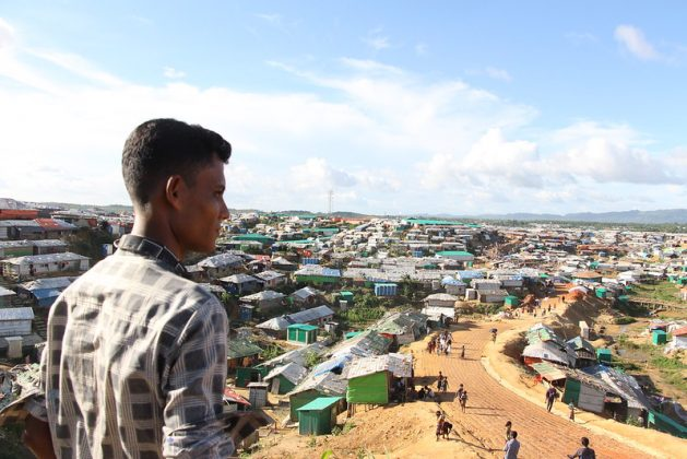 Ya se diagnosticó el primer caso de coronavirus cerca de Cox's Bazar, un gran campo de refugiados rohinyá en Bangladesh, donde hay más de un millón de rohinyás que huyeron de la persecución en la vecina Myanmar (Birmani). Foto: ASM Suza Uddin / IPS