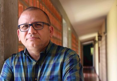 El autor, Andrés Cañizález