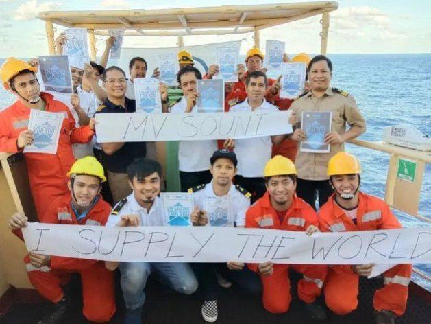 Trabajadores marítimos siguen asegurando el transporte de alimentos y bienes esenciales durante la pandemia de la covid-19. Foto: FIT