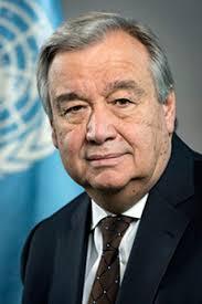 António Guterres, secretario general de la ONU. Foto: ONU