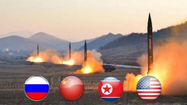 Los países con más ojivas nucleares de los nueve que hay en el mundo con armamento nuclear. Foto: YouTube