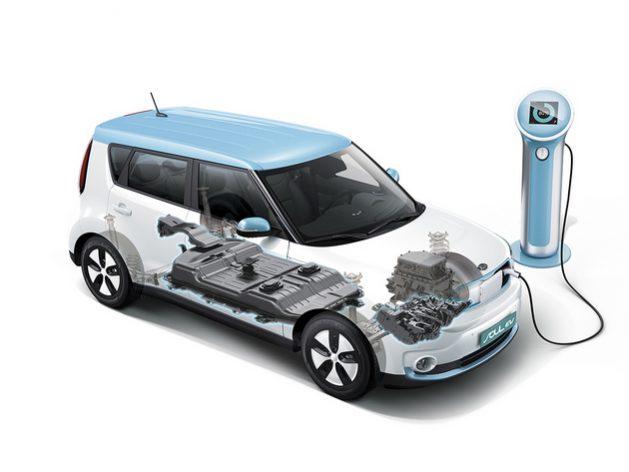 Los autos eléctricos son ambientalmente más amigables con el planeta pero las baterías que permiten su funcionamiento se elaboran con minerales cuya explotación causa problemas ambientales y sociales en países en desarrollo. Imagen: KIA Motors