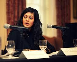 La entrevistada, Akila Radhakrishnan, presidenta del Centro para la Justicia Global. Foto: GJC