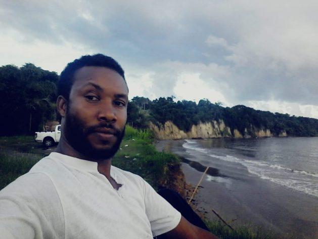 Eric Lewis, príncipe hereditario de los primeros pueblos de Moruga, en la bahía de Retraiteal este de la cual se encuentran Trinity Hills, en el sureste de Trinidad y Tobago. Foto: Cortesía de Eric Lewis