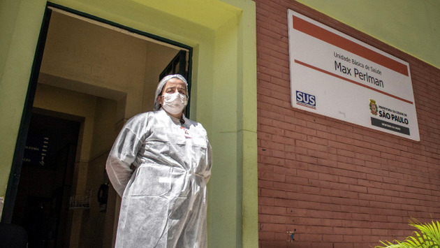 Con más de un millón de trabajadores de salud de Brasil bajo sospecha de tener covid, es el segundo país más afectado (después de Estados Unidos) en América. Foto Guilherme Gandolfi/Fotos Públicas