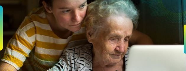 El cuidado de personas mayores es una posibilidad de empleo formal en América Latina y el Caribe.