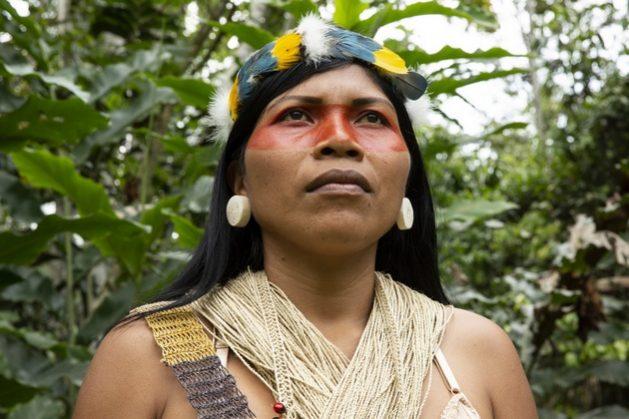Nemonte Nenquimo es la ganadora del Premio Ambiental Goldman 2020 para Sudamérica y América Central. Foto: Jerónimo Zúñiga/Amazon Frontlines
