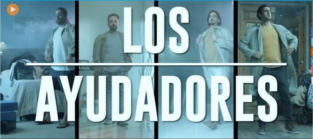 """Cartel promocional de """"Los ayudadores"""", una de las piezas audiovisuales que desmontan, con un toque de humor, arraigados comportamientos machistas en el hogar. Esta campaña argentina se ha hecho viral en medios y redes de varios países. Imagen: Spotlight"""
