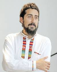 El autor, Emiliano Terán Mantovani. Foto: Aporrea