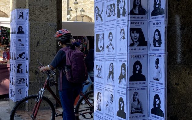 Fotos de víctimas de feminicidio en México, donde estos crímenes de mujeres por razón de género, crecieron en 2020, como la violencia machista en general, en parte a causa de la covid. Foto: Zona Docs