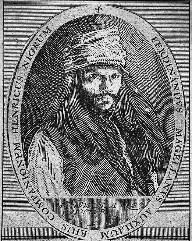 Retrato del circunnavegador esclavo Enrique de Malacca. Imagen: EnriquedeMalacca.com